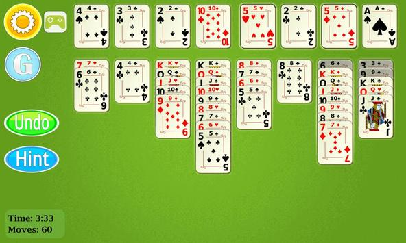 FreeCell Solitaire Mobile apk screenshot