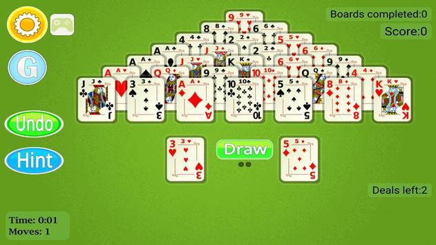 Pyramid Solitaire Mobile apk screenshot
