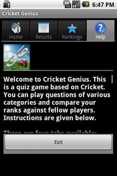Cricket Genius screenshot 5