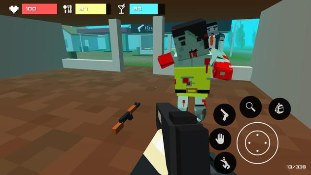 Pixel Z2: unturned survival apk screenshot