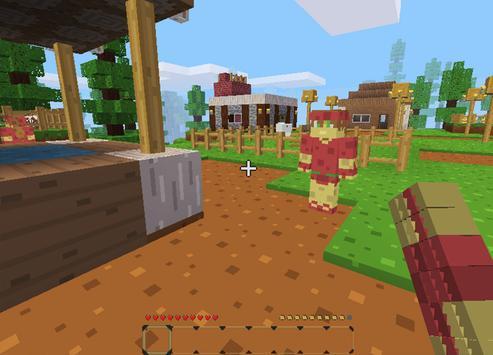 Story mode: pixel block gun 3d apk screenshot