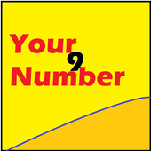 Your day you number icon
