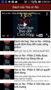 Sách nói Yes or No apk screenshot