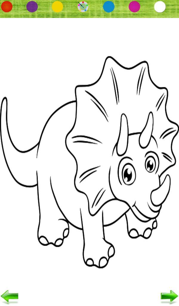 600 Gambar Mewarnai Hewan Dinosaurus HD Terbaik