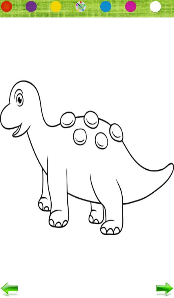 92+ Gambar Mewarnai Hewan Dinosaurus Paling Hist