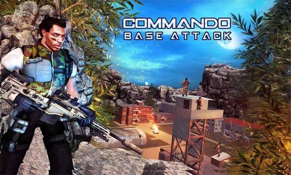 Commando Base Attack Mission poster