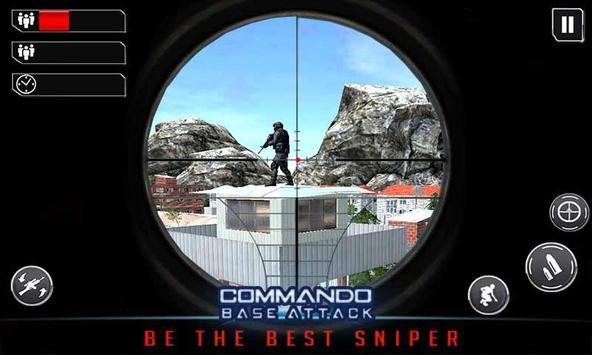 Commando Base Attack Mission apk screenshot