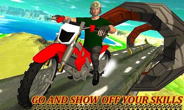 Jumping Moto Bike Stunts poster