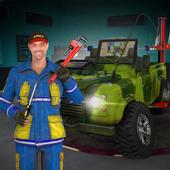US Military Truck Mechanic Sim icon