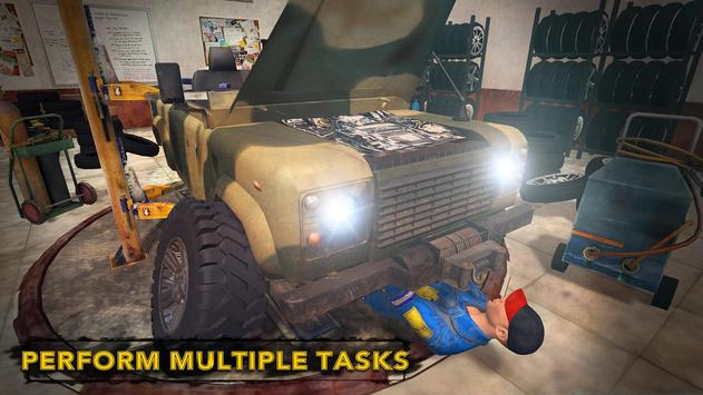 US Military Truck Mechanic Sim apk screenshot