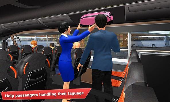 Virtual girl tourist bus waitress jobs : Dream Job screenshot 1