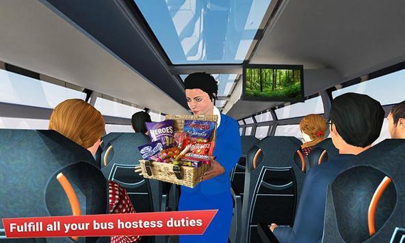 Virtual girl tourist bus waitress jobs : Dream Job screenshot 3