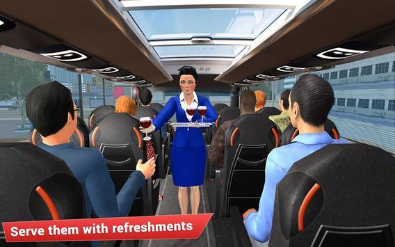 Virtual girl tourist bus waitress jobs : Dream Job screenshot 5