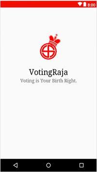 Voting Raja poster