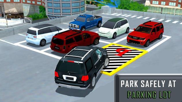 Prado Car Simulator Parking 2018 poster