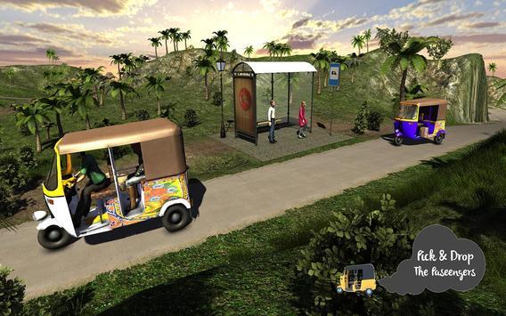 Tuk Tuk Offroad Rickshaw Drive apk screenshot