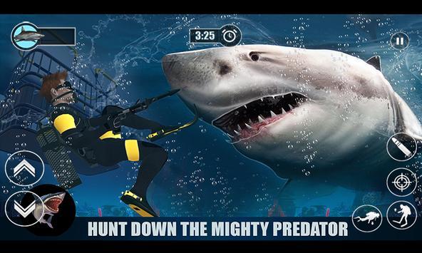 Underwater Sea Animal Hunting poster