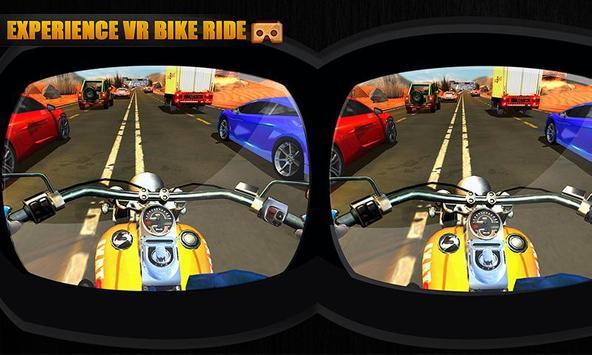 VR Highway Moto Bike Racer poster