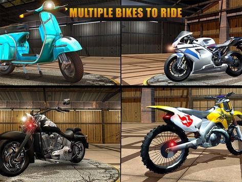 VR Highway Moto Bike Racer apk screenshot
