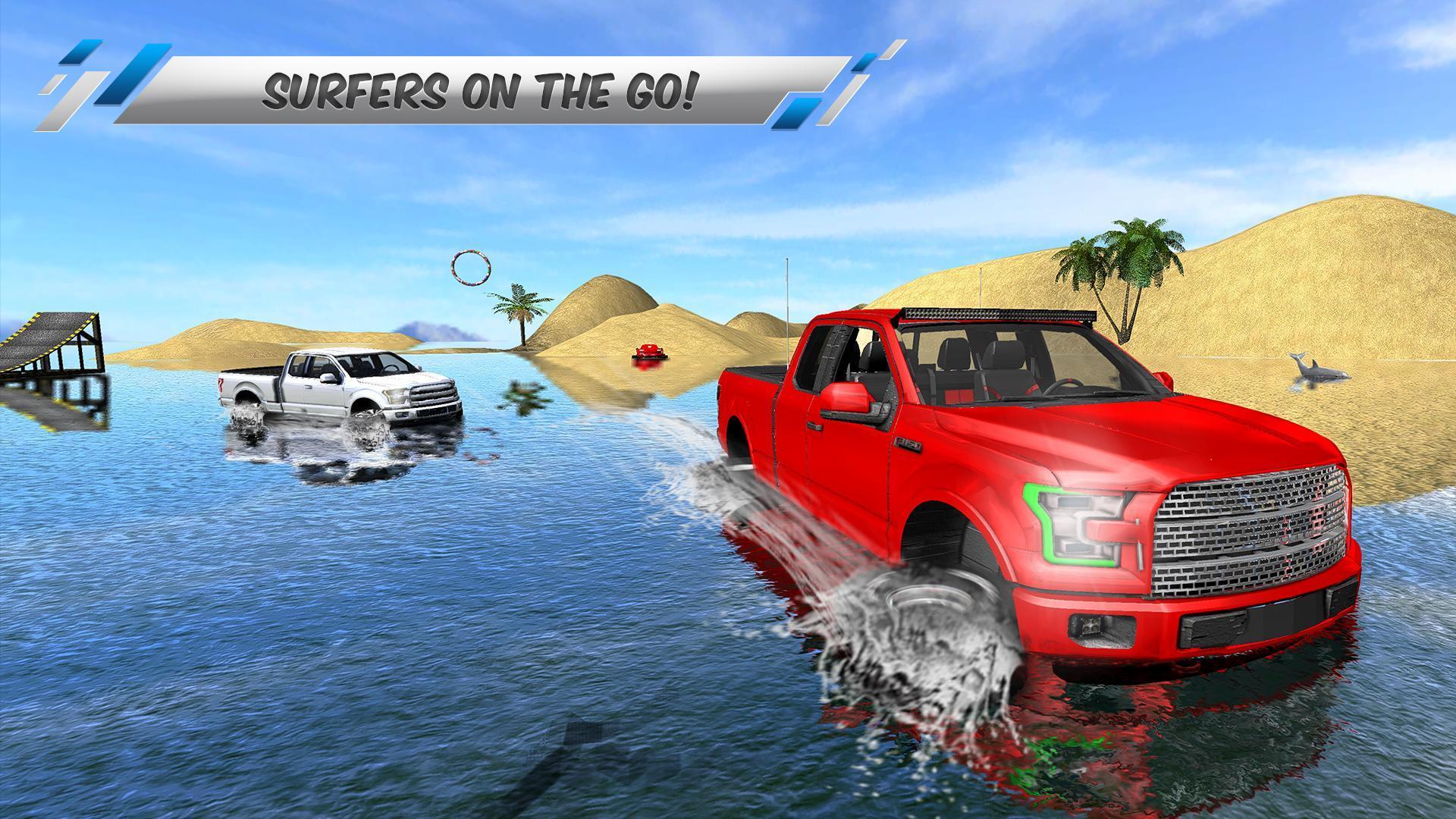 vehicles driving beach cars trucks beach