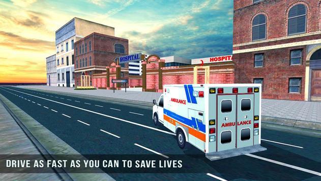 Ambulance Rescue 3D Simulator poster