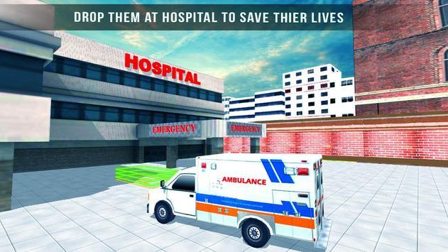 Ambulance Rescue 3D Simulator apk screenshot