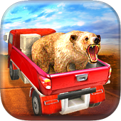 Animal Transporter Truck 3D icon