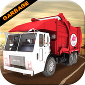 City Garbage Truck Cleaner icon