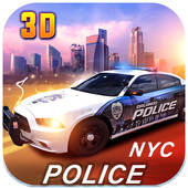 City Police Car Driver icon