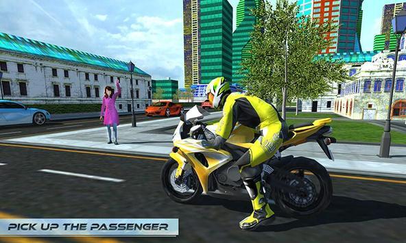 Furious City Moto Bike Rider poster