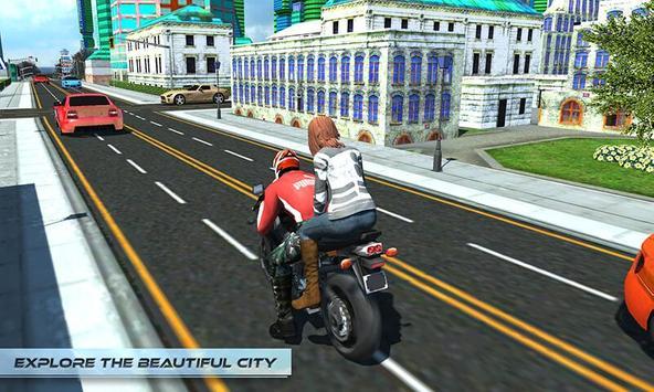 Furious City Moto Bike Rider screenshot 1