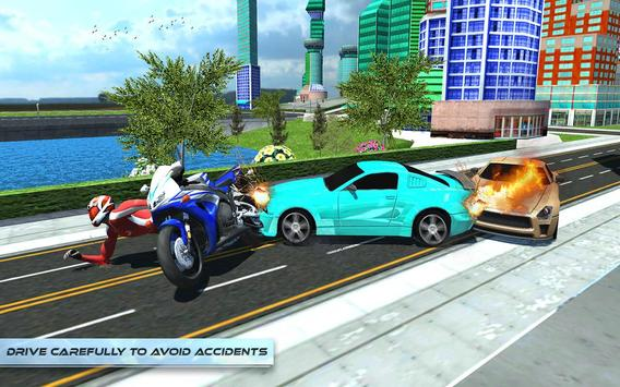 Furious City Moto Bike Rider screenshot 20