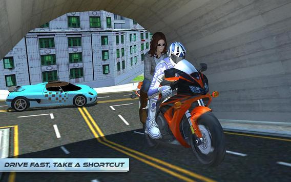 Furious City Moto Bike Rider screenshot 21
