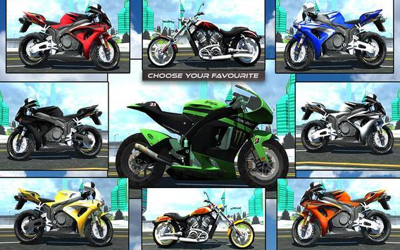 Furious City Moto Bike Rider screenshot 23