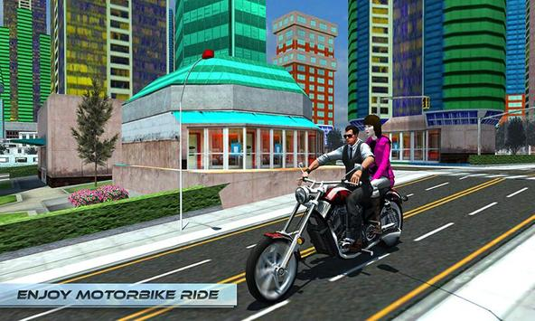 Furious City Moto Bike Rider screenshot 2