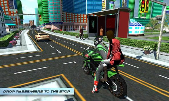 Furious City Moto Bike Rider screenshot 3