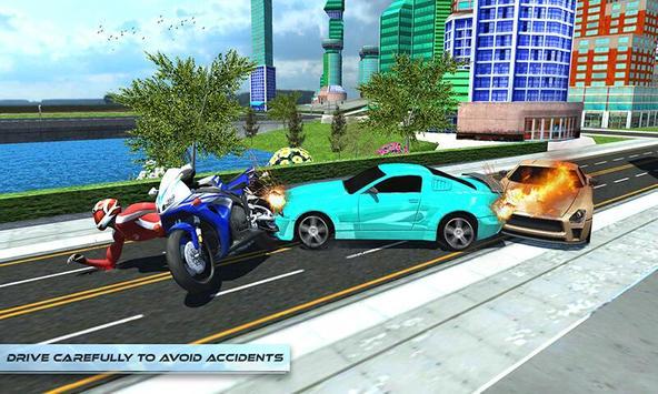 Furious City Moto Bike Rider screenshot 4