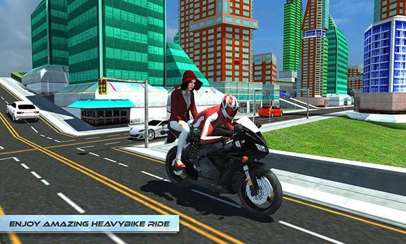 Furious City Moto Bike Rider screenshot 6