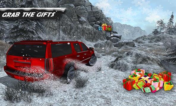 Escalade 4x4 Snow Driving 3D poster