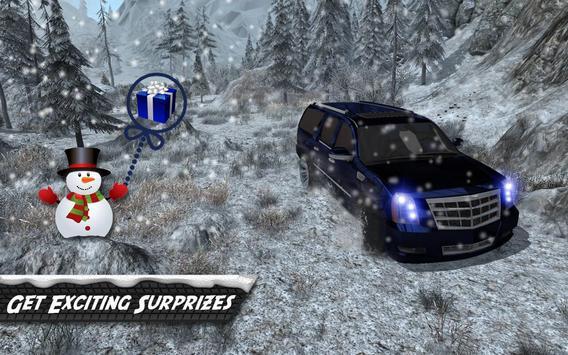 Escalade 4x4 Snow Driving 3D apk screenshot