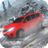 Game android Offroad Snow 4x4 Prado Driving APK offline 3d