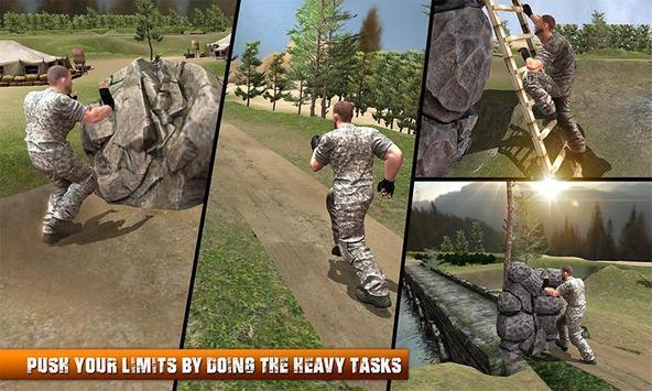 Army Commando Survival Island poster