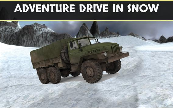 Army Cargo Truck Simulator poster