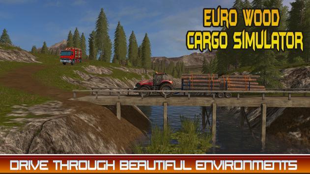 Euro Wood Cargo Simulator 3D apk screenshot