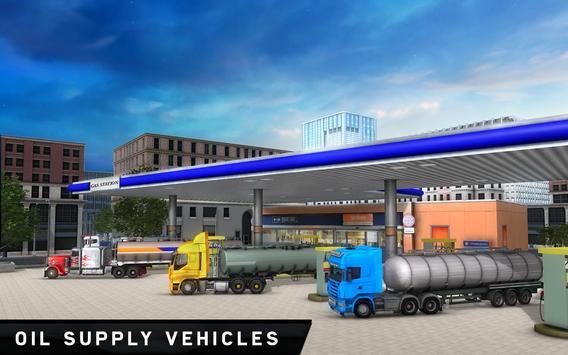 Offroad Oil Transport Truck 3D apk screenshot