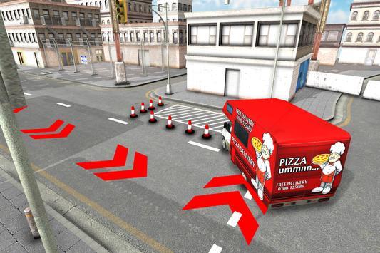 City Pizza Delivery Van apk screenshot