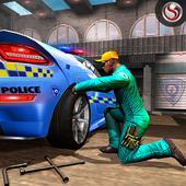 Police Auto Mechanic Workshop icon