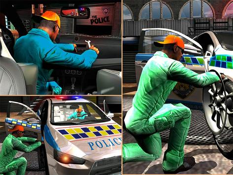 Police Auto Mechanic Workshop apk screenshot
