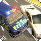 Police Mini Bus Crime Pursuit icon