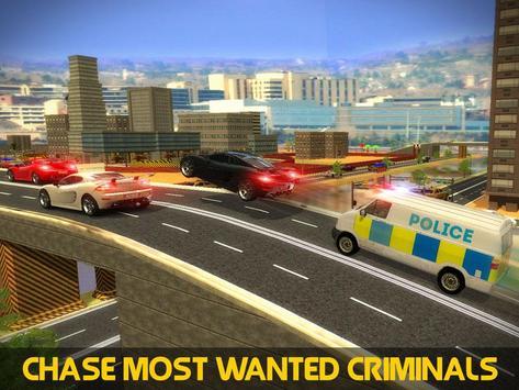 Police Mini Bus Crime Pursuit poster